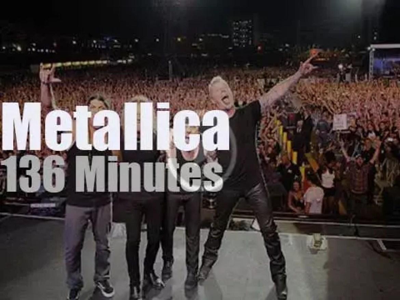 Metallica attend Lollapalooza in Brazil (2017)