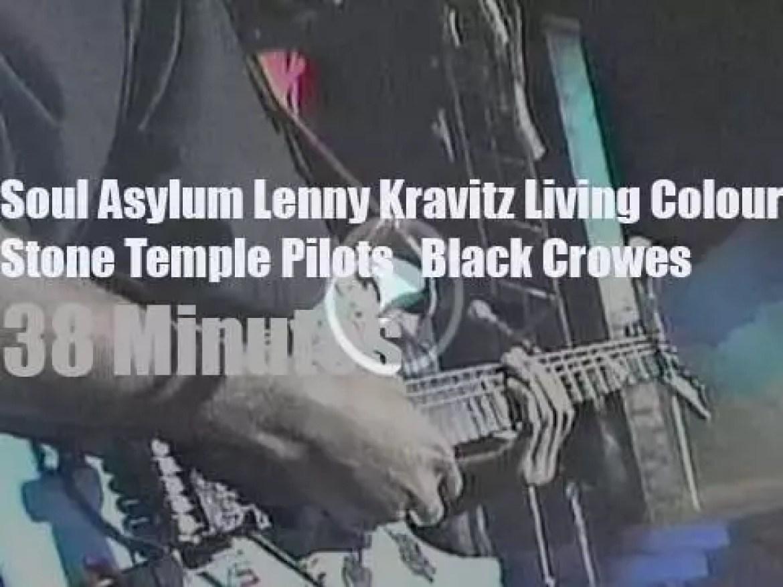 On TV today, Lenny Kravitz, Stone Temple Pilots et al celebrate 'Spring Break ' in Florida (1993)