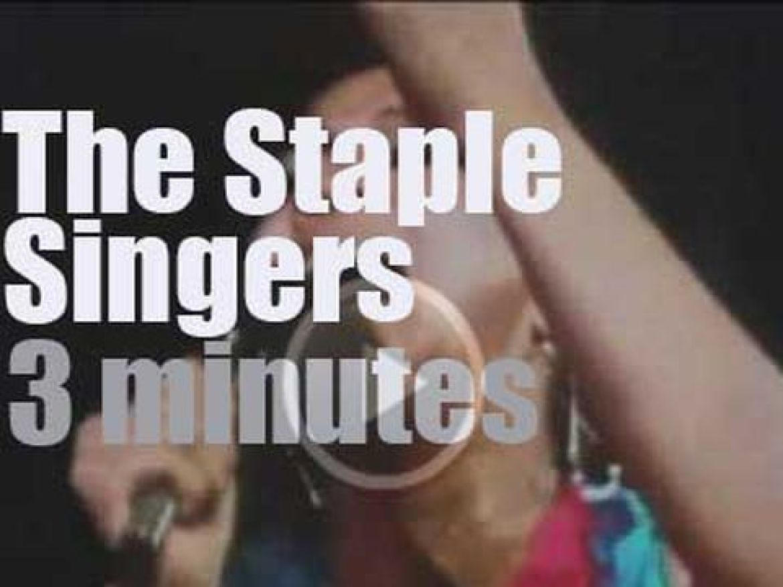 The Staple Singers shoot a film in Ghana (1971)