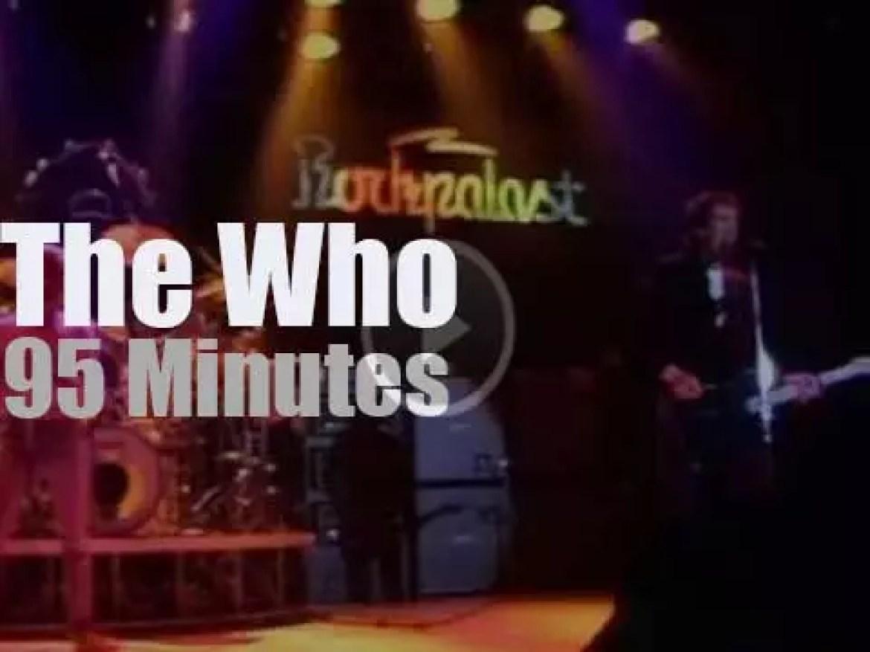 The Who rock Essen (1981)