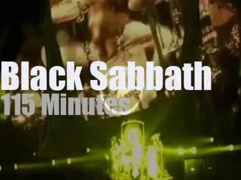 Black Sabbath visit Sydney (2013)