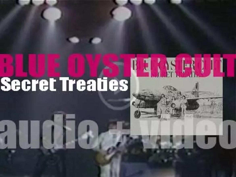 Blue Öyster Cult release their third album : 'Secret Treaties' (1974)