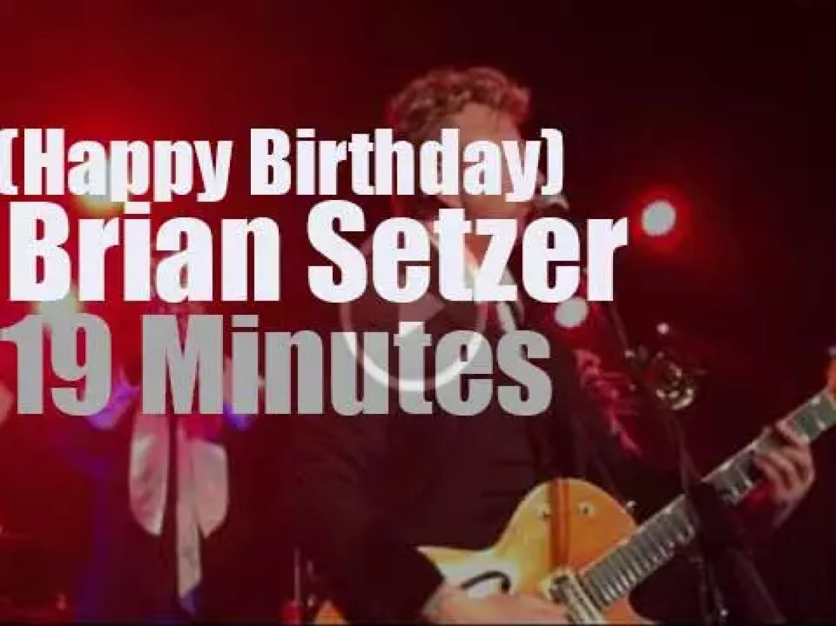 Happy Birthday Brian Setzer