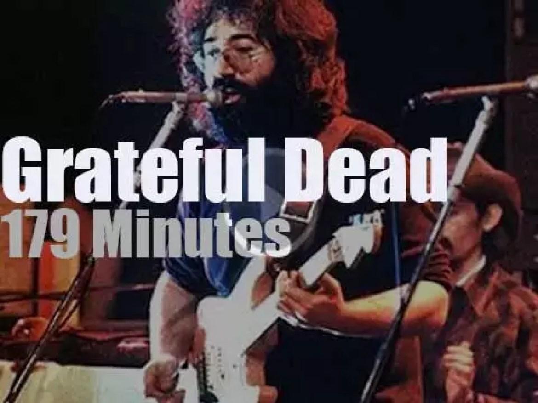 Danish television films Grateful Dead in Copenhagen (1972)