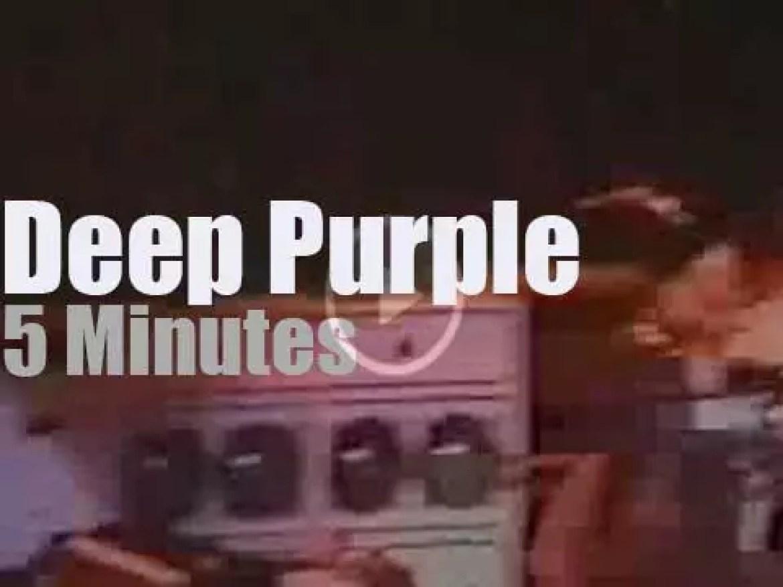 Deep Purple colour New-York (1991)