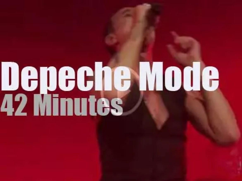 Depeche Mode play a secret gig at a Cemetery (2017)