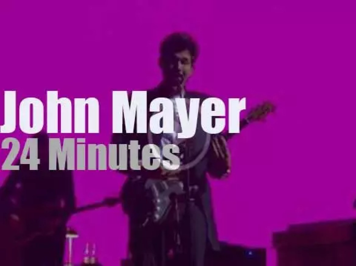 John Mayer plays in Chicago (2017)