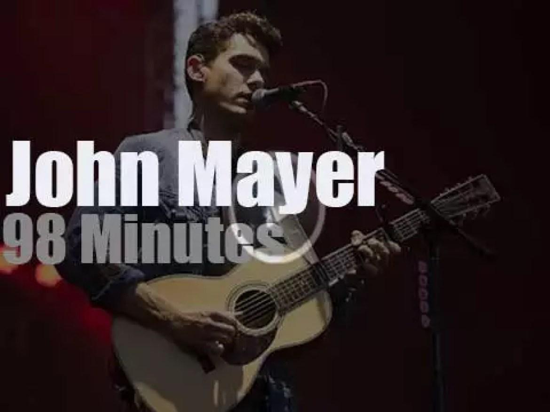 John Mayer visits Seoul (2014)