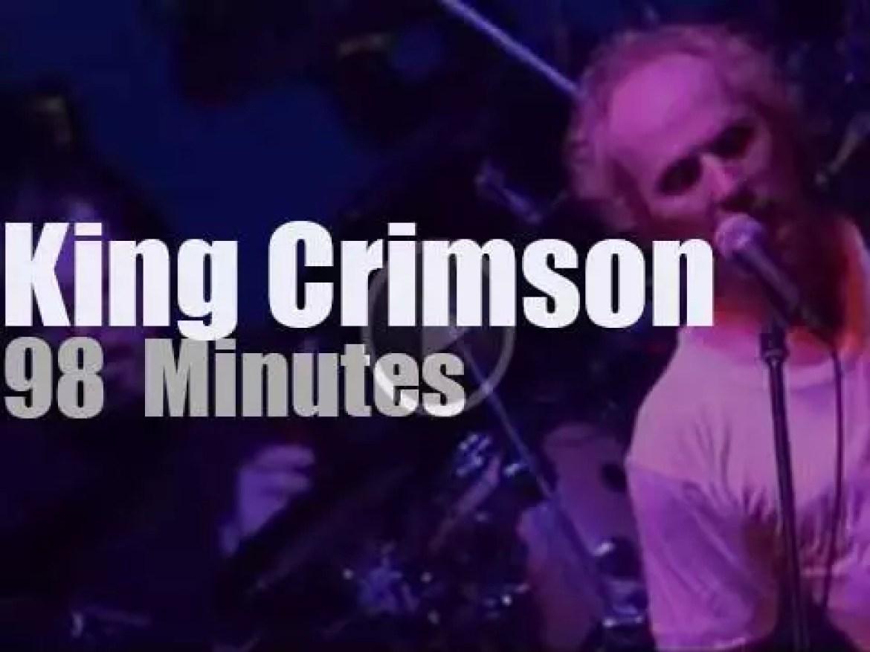 King Crimson rule in Tokyo (2003)