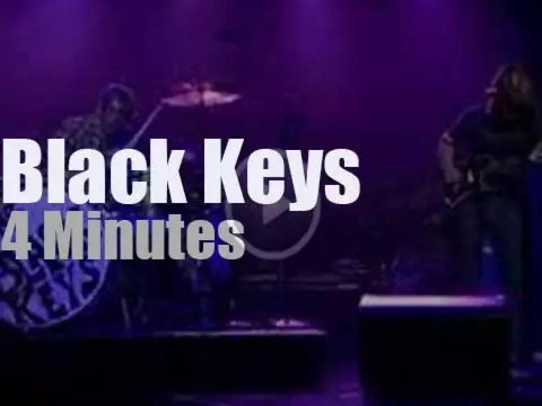 On TV today, Black Keys with David Letterman (2008)