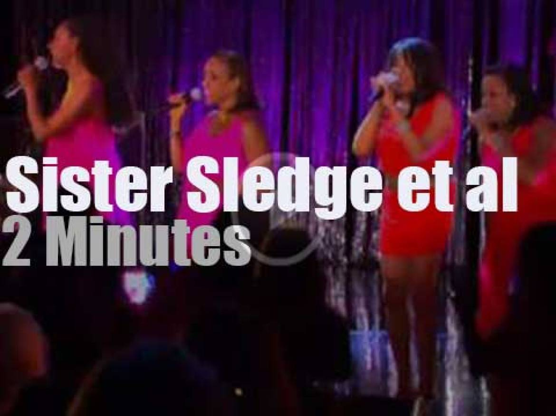On TV today, Sister Sledge et al on 'Oprah' ( (2011)
