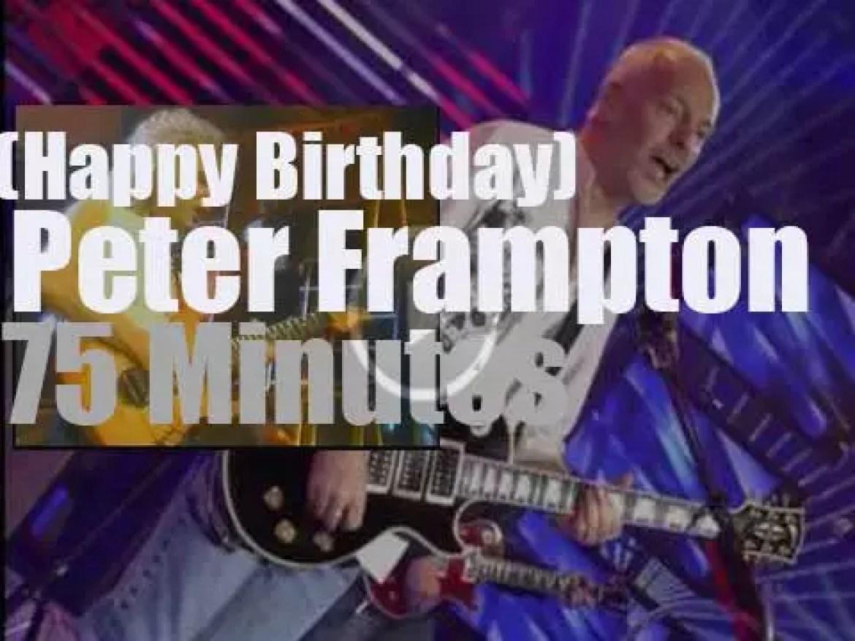 Happy Birthday Peter Frampton