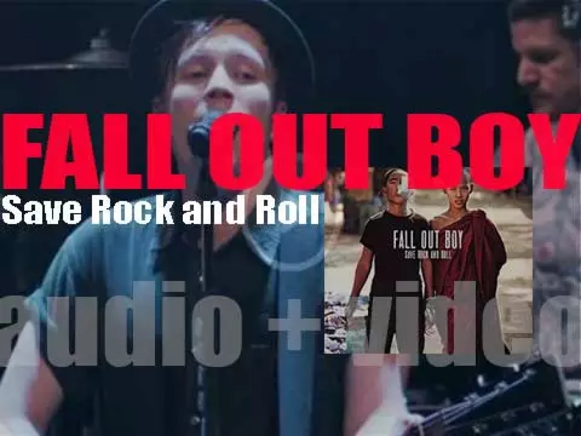 Fall Out Boy release 'Save Rock and Roll' featuring 'My Songs Know What You Did in the Dark (Light Em Up)' (2013)
