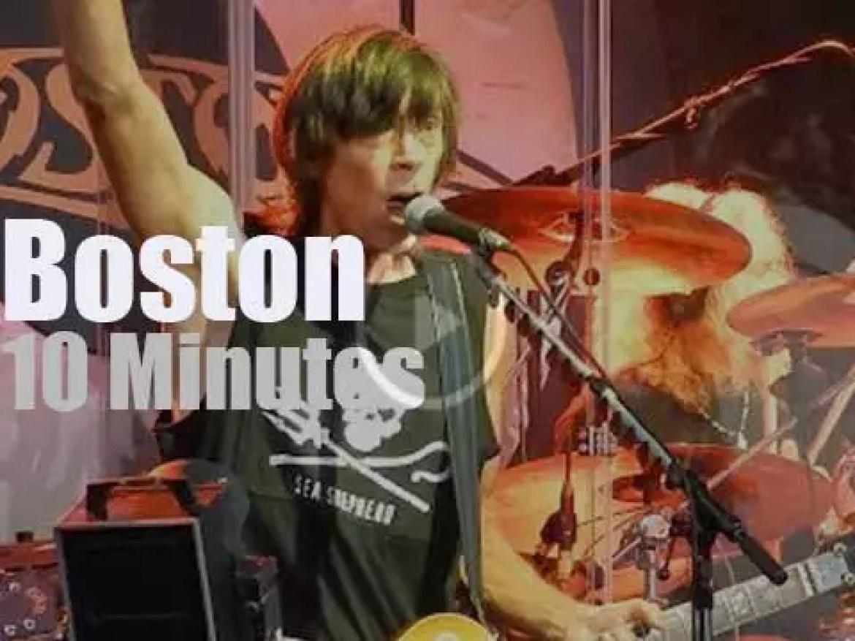 Boston rock Wisconsin (2017)