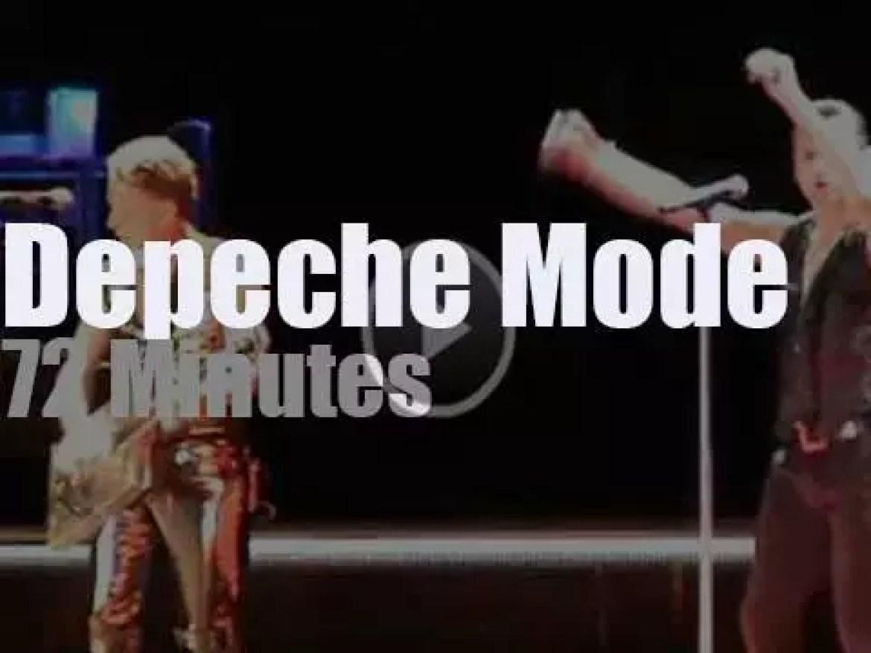 Depeche Mode  travel to Athens, Greece (2013)