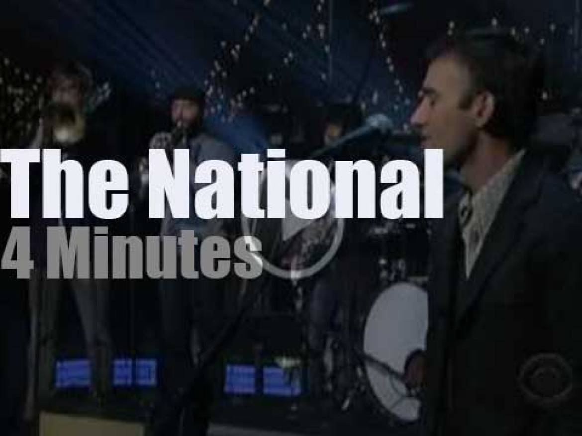 On TV today, The National at 'Letterman' (2010)