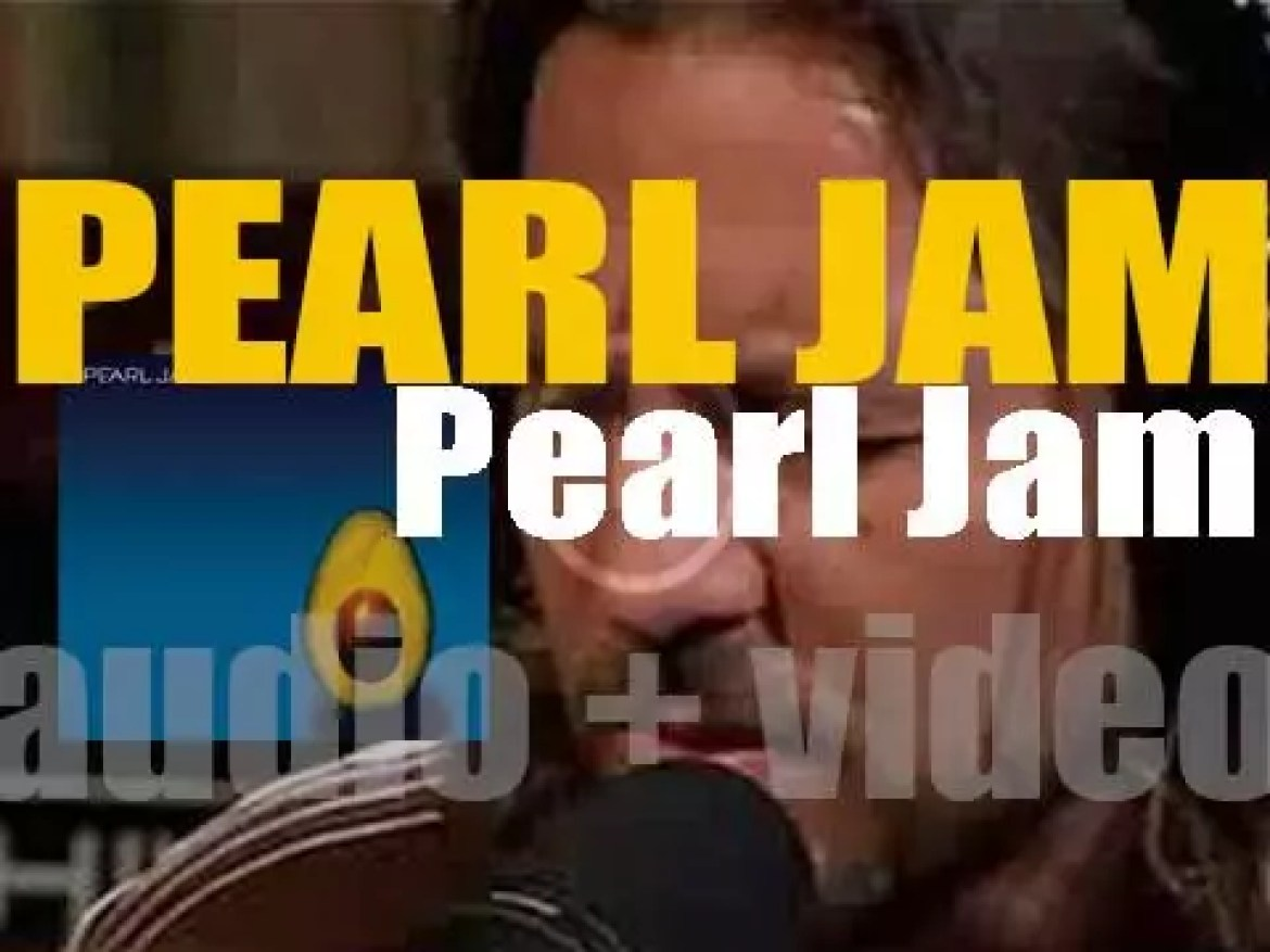 J Records release 'Pearl Jam,' their self-titled eighth album (2006)