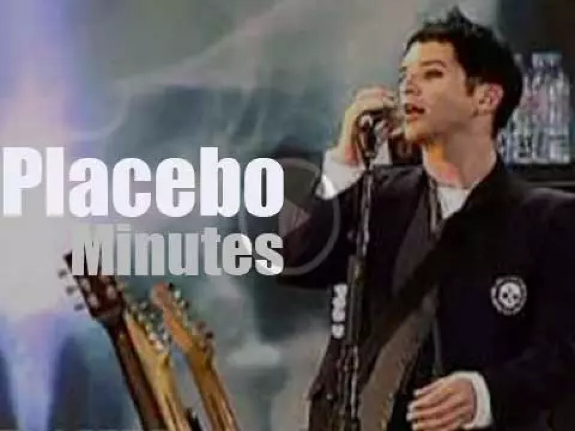 Placebo attend a rock festival in Germany  (2006)