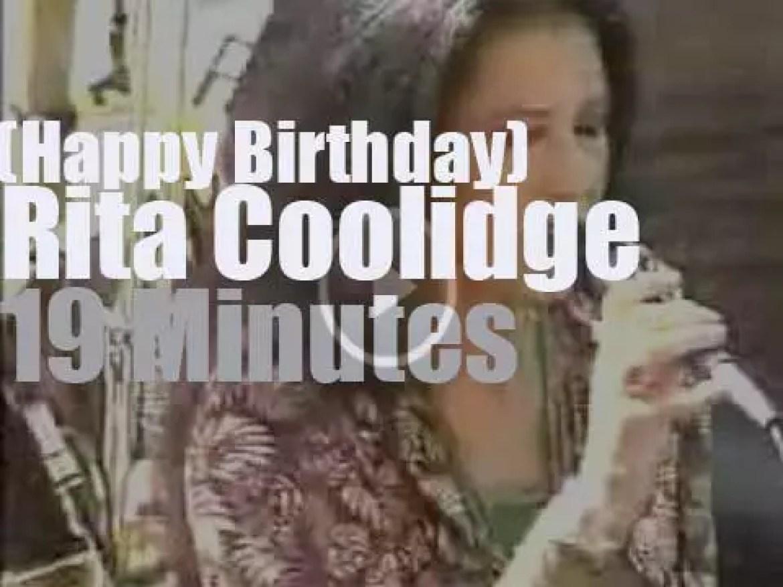 Happy Birthday Rita Coolidge