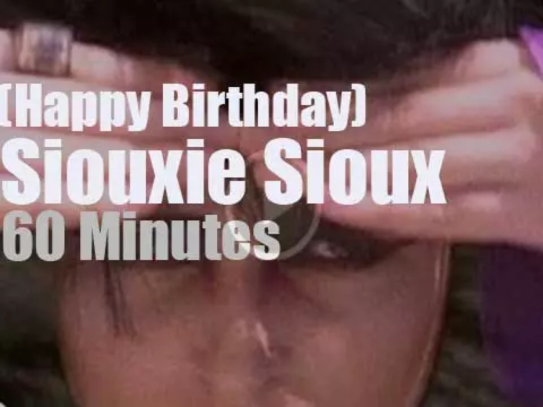 Happy Birthday Siouxsie Sioux