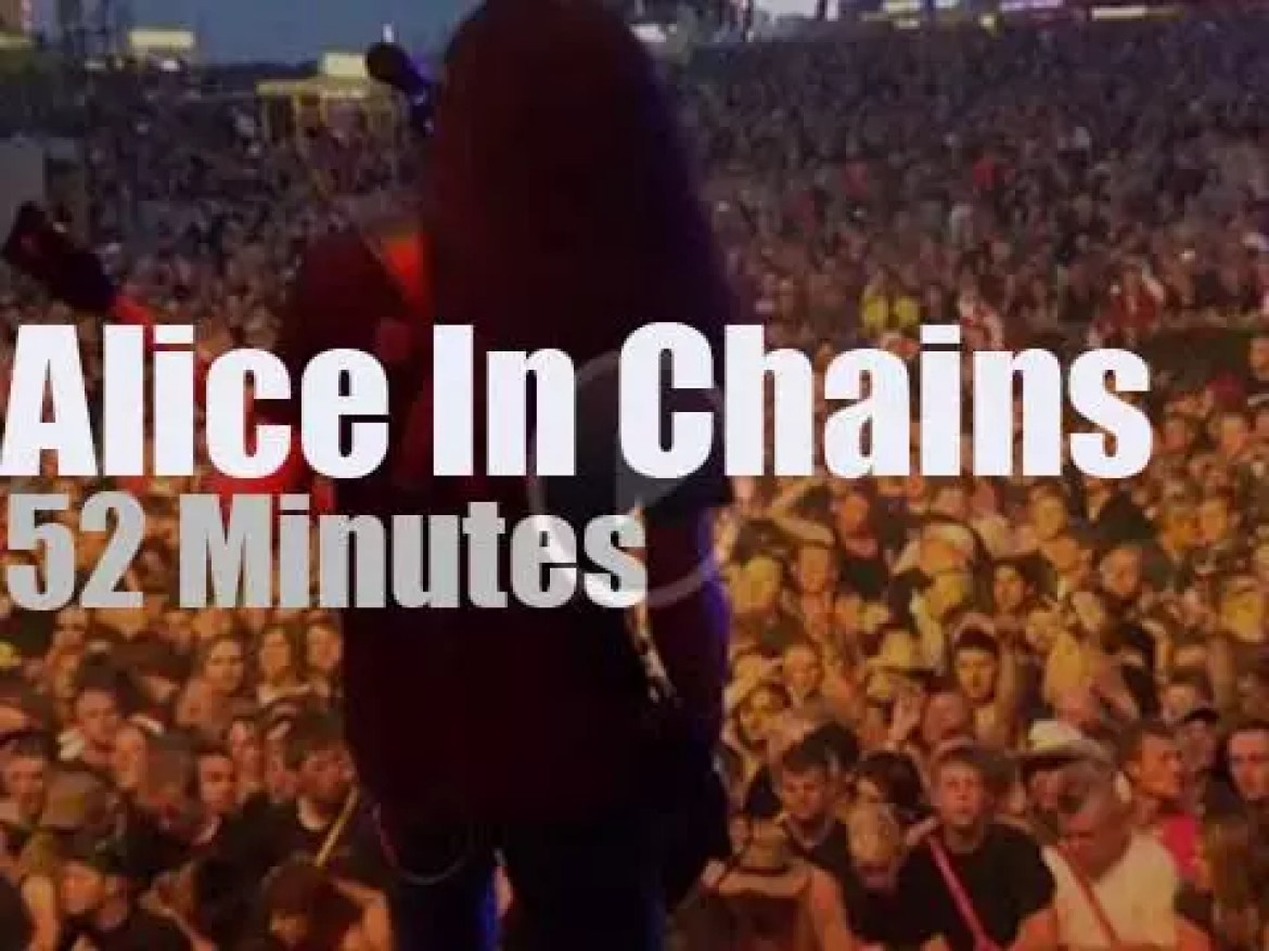 Alice In Chains attend a rock festival in Germany  (2010)