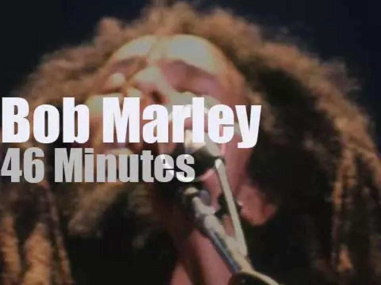 Bob Marley rocks Boston (1978)