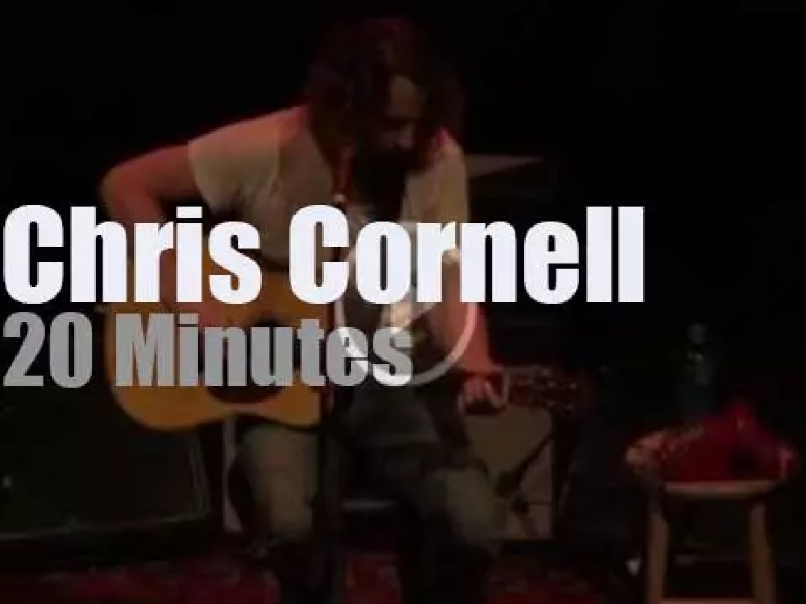 Chris Cornell plays solo and acoustic in New York (2012)