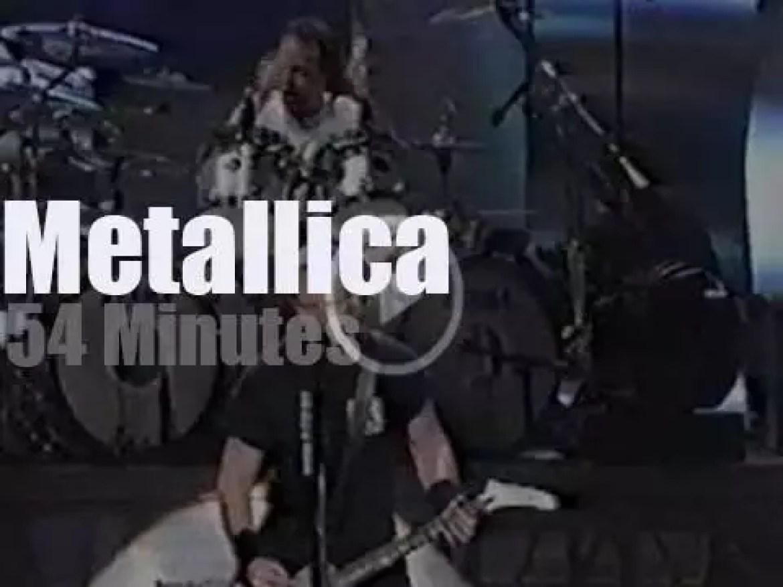 Metallica launch a museum in Seattle (2000)