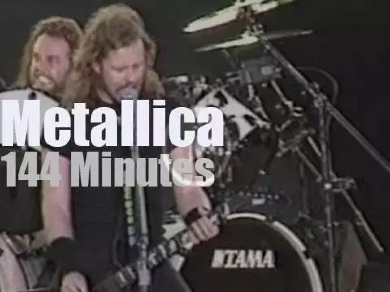 Metallica roam in Milton Keynes (1993)