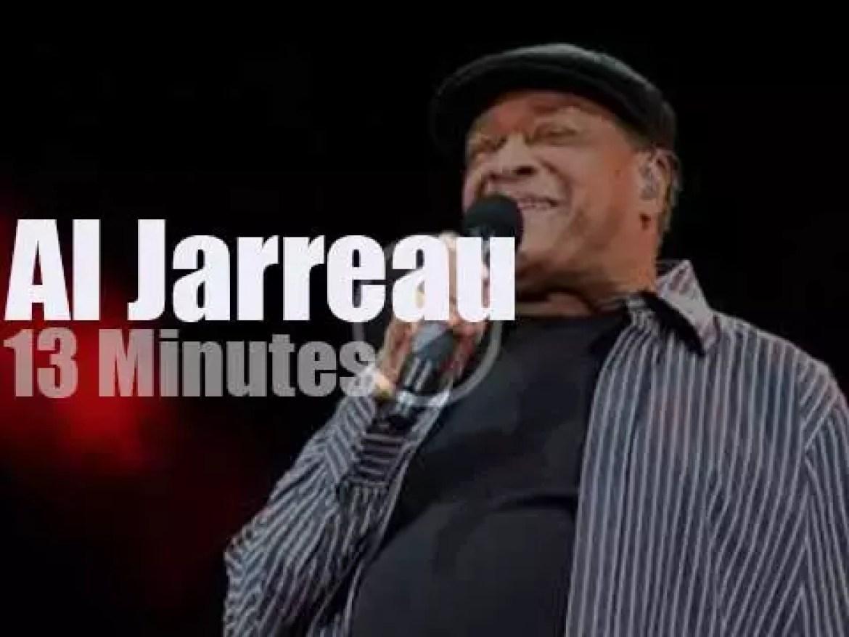 Al Jarreau sings at Umbria Jazz (2014)