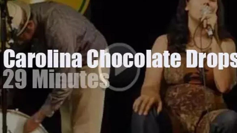 Carolina Chocolate Drops rock North Carolina (2012)
