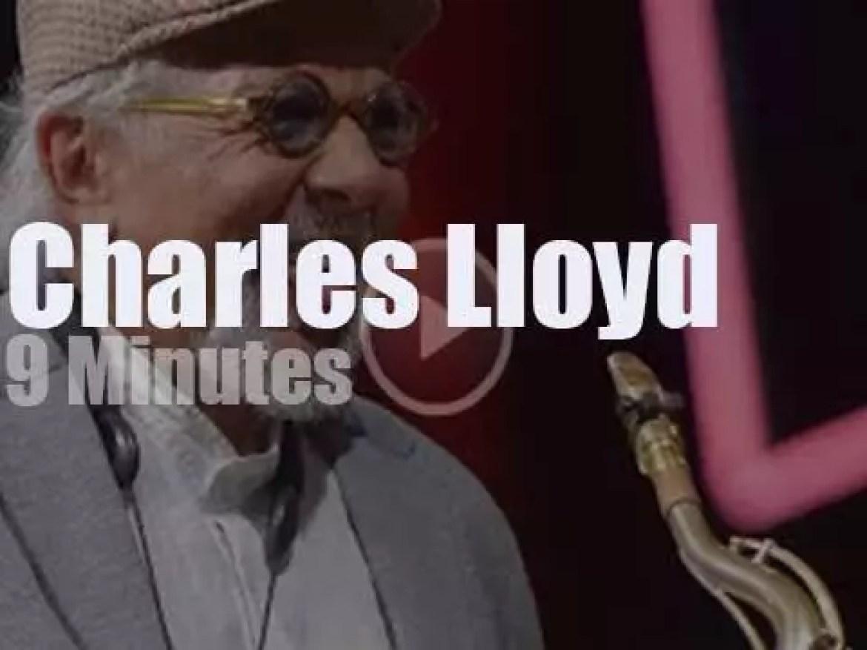 Charles Lloyd is at 'Jazz in Marciac' (2016)