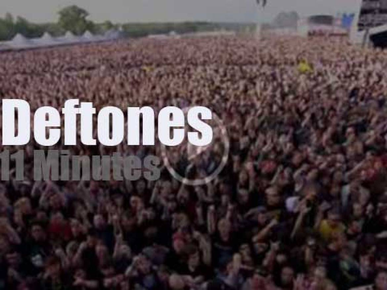 Deftones attend a British festival (2014)
