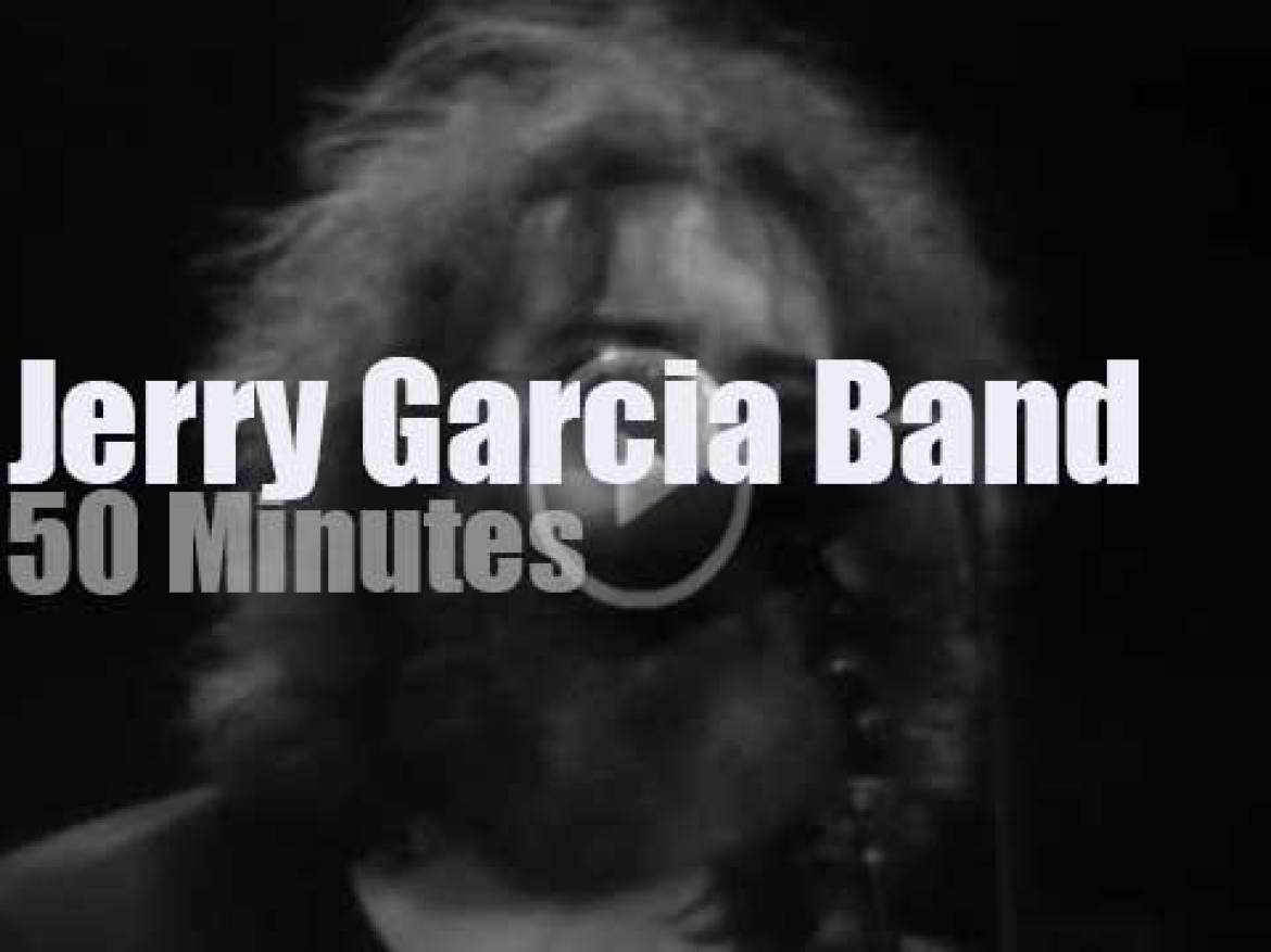 Jerry Garcia Band is in New-Jersey (1980)