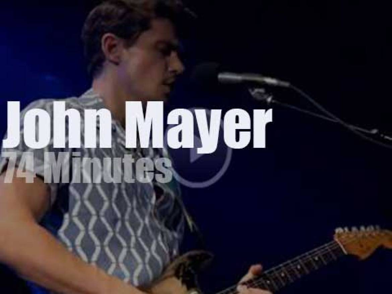 John Mayer brings his beer to LA (2017)