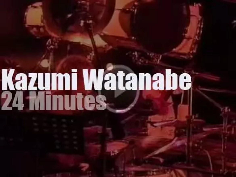 Kazumi Watanabe plays in Tokyo (1989)