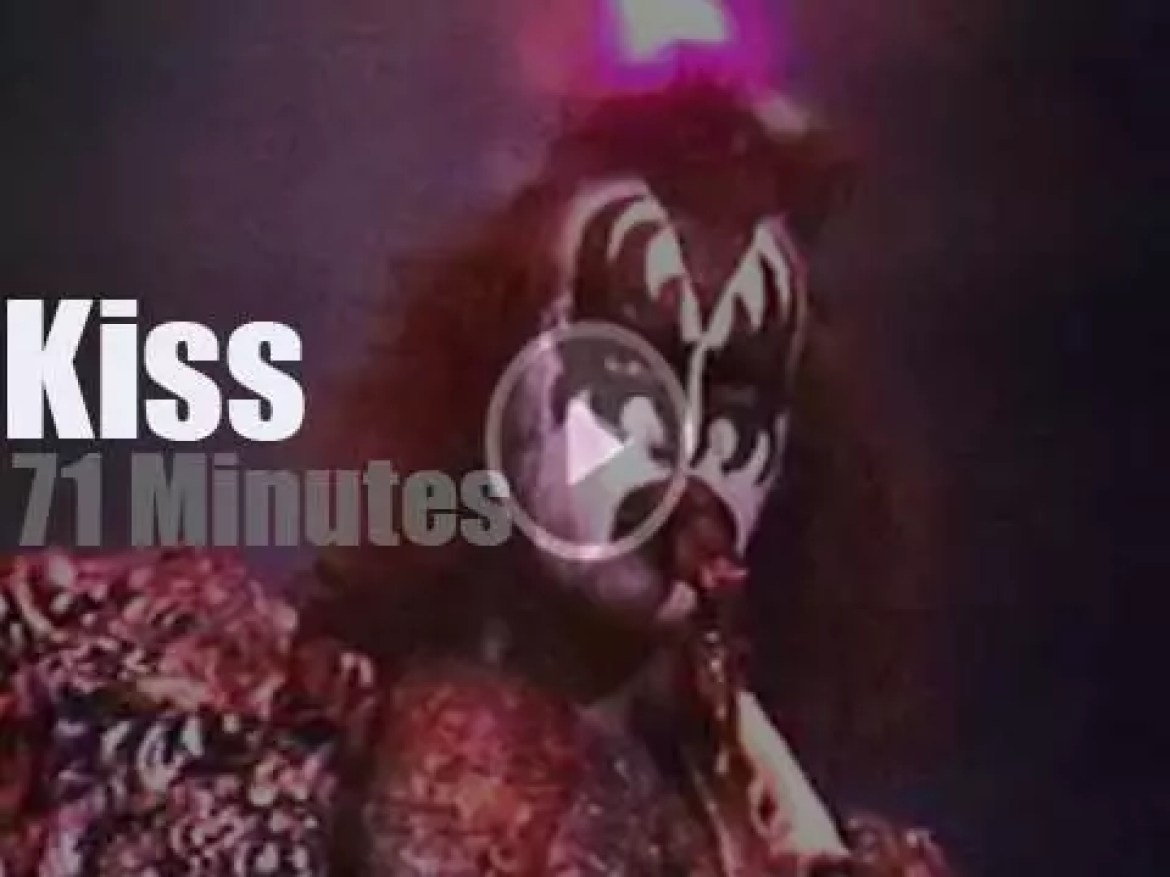 Kiss travel to Maryland (1979)