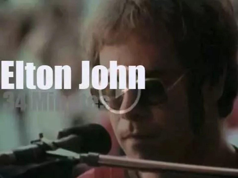 On Swedish TV, 'Elton John in Stockholm' (1971)