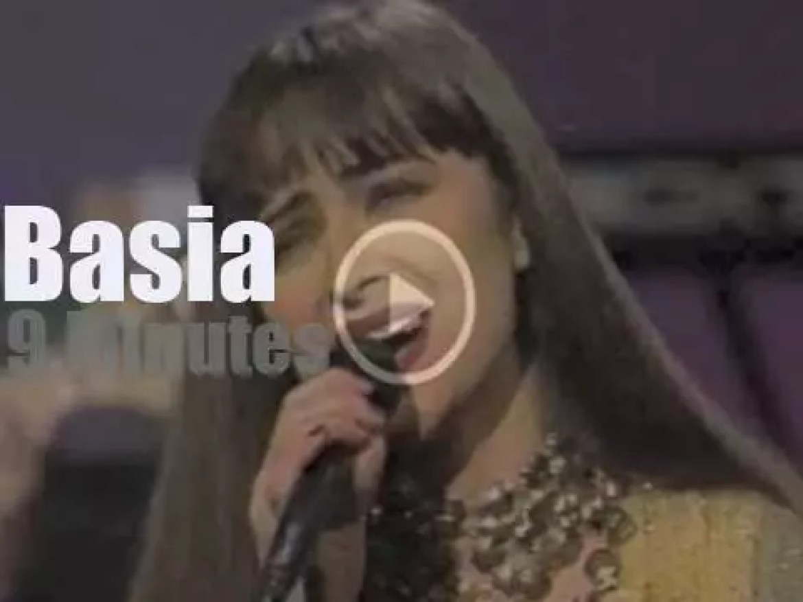On TV today, Basia with Jay Leno (1990)