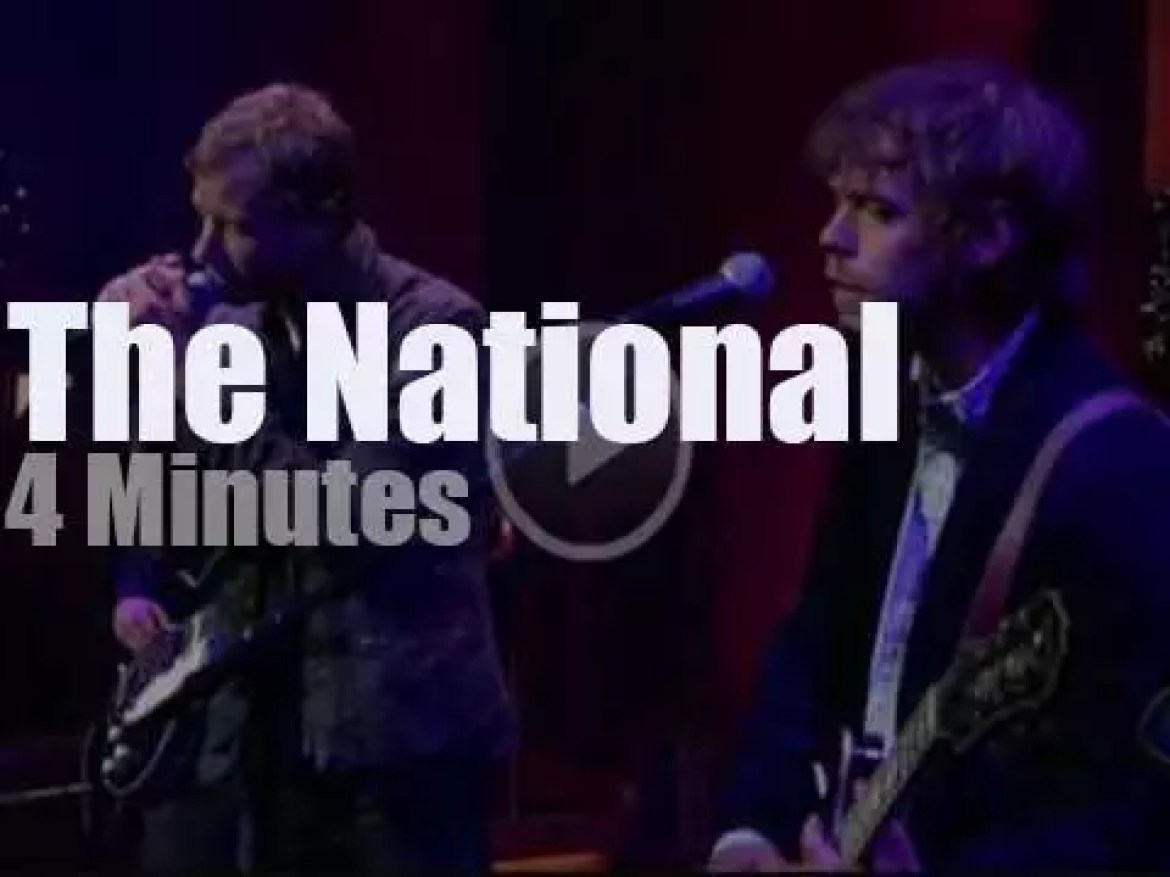 On TV today,  The National with David Letterman (2007)