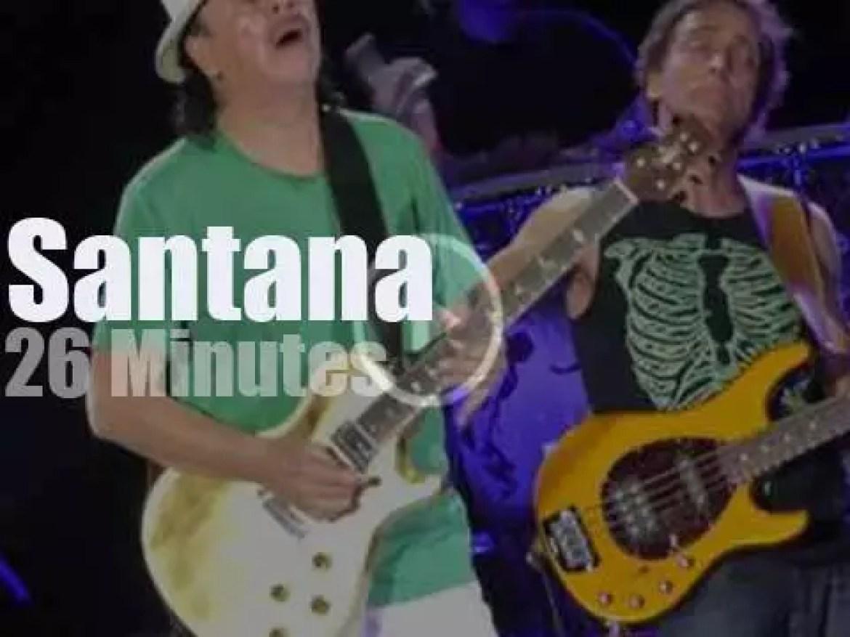 Santana are back in Milano (2016)