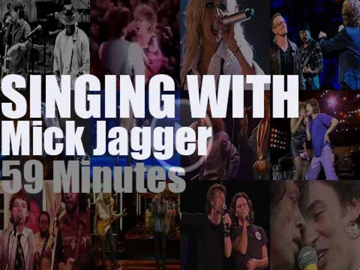 Singing With Mick Jagger
