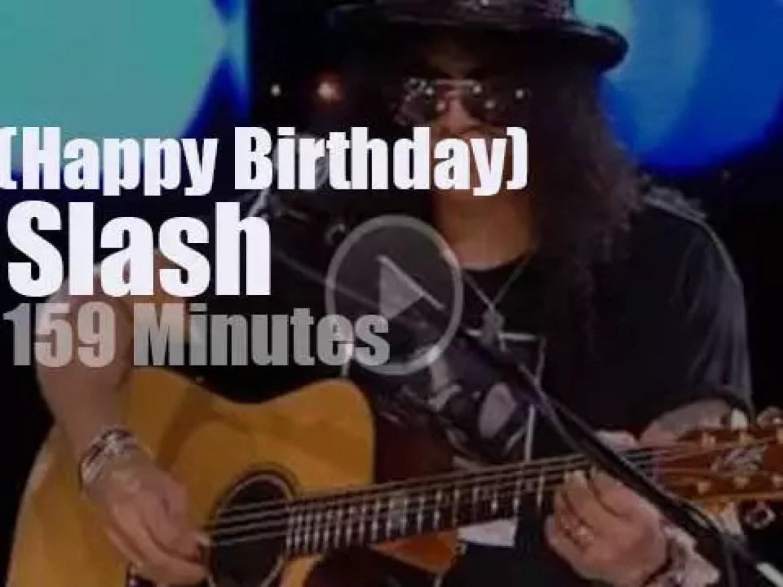 Happy Birthday Slash