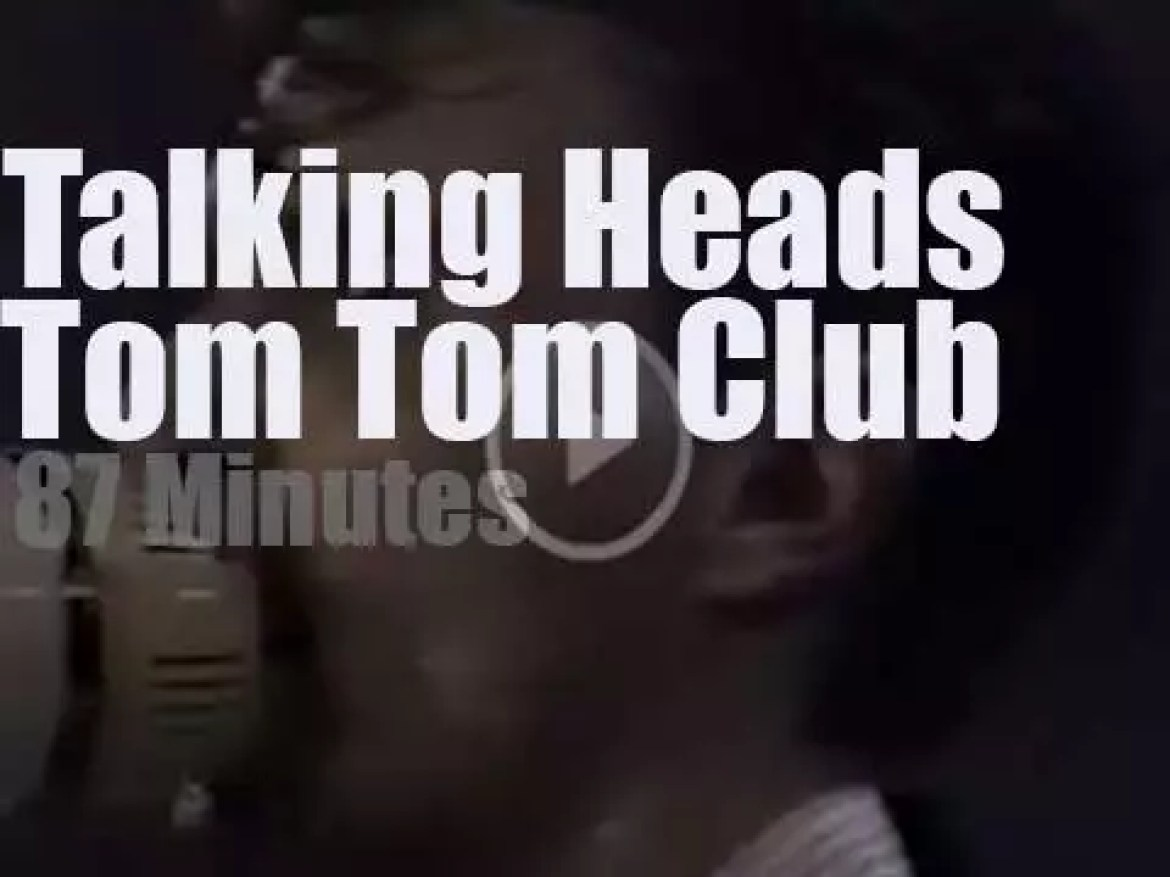 Talking Heads and Tom Tom Club rock Montreux (1982)