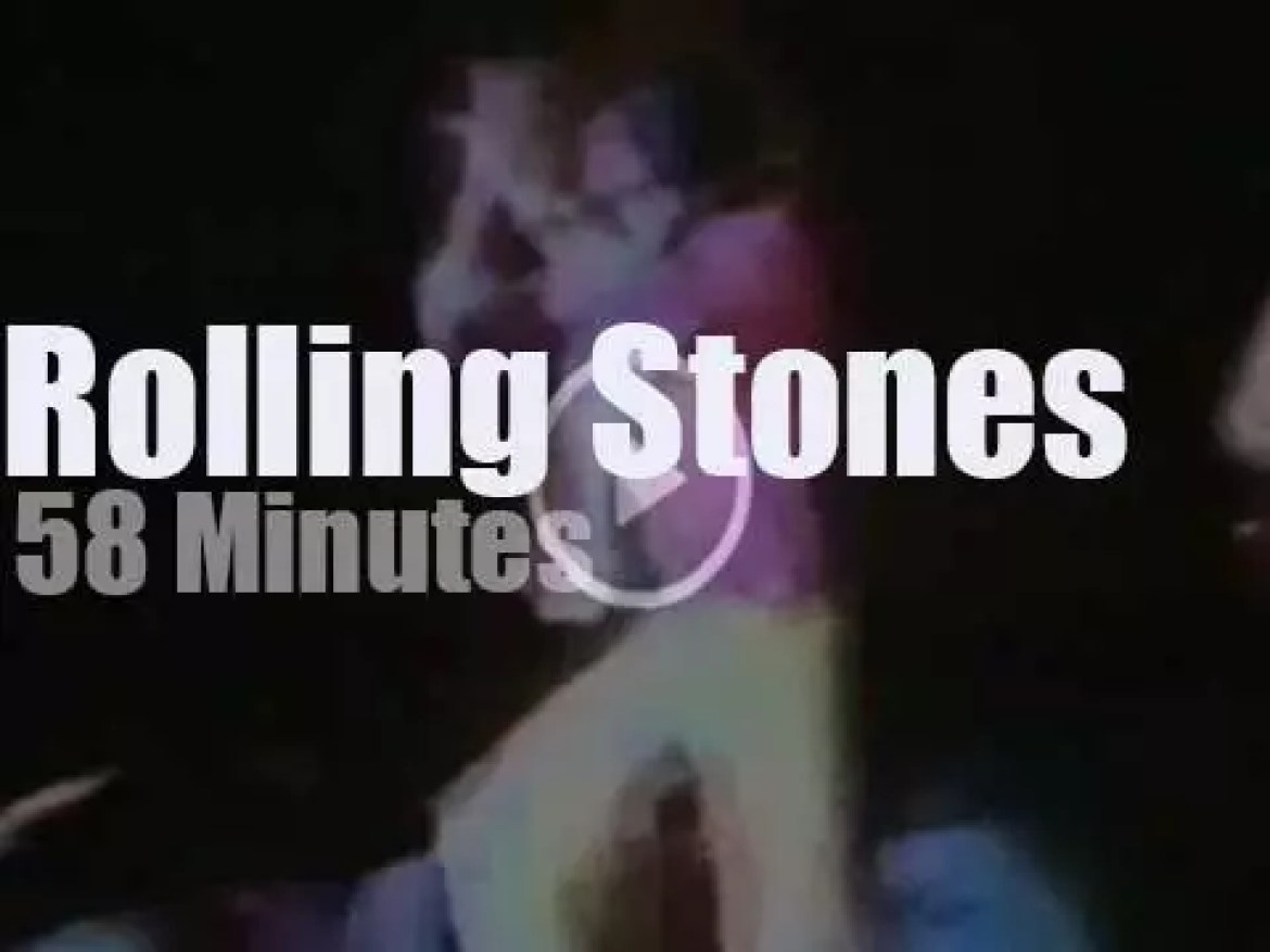 The Rolling Stones spend five nights together in LA (1975)