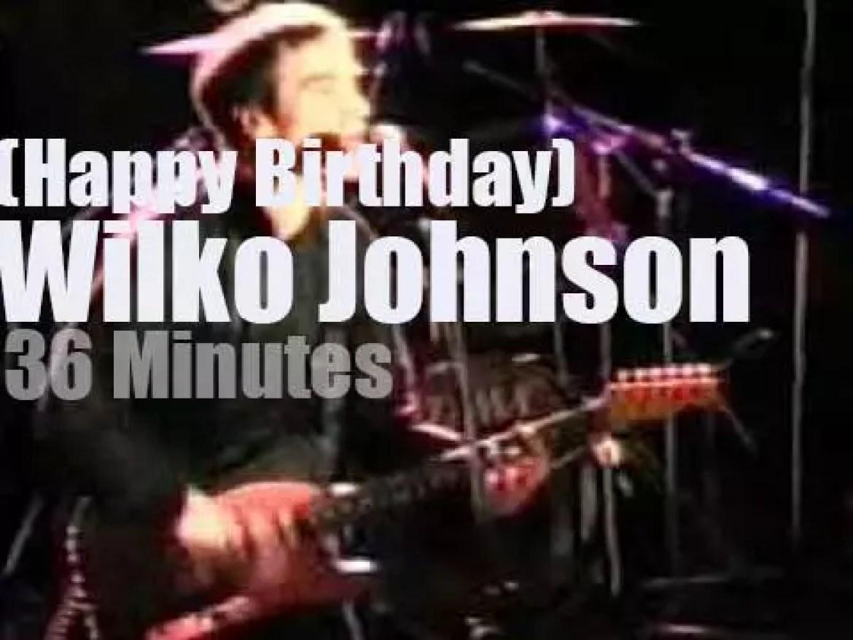 Happy Birthday Wilko Johnson