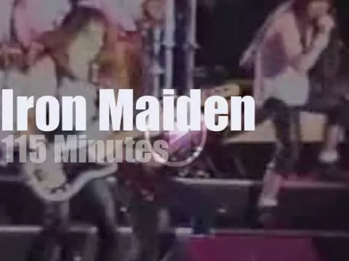 Iron Maiden are 'Monsters' at Donington (1992)