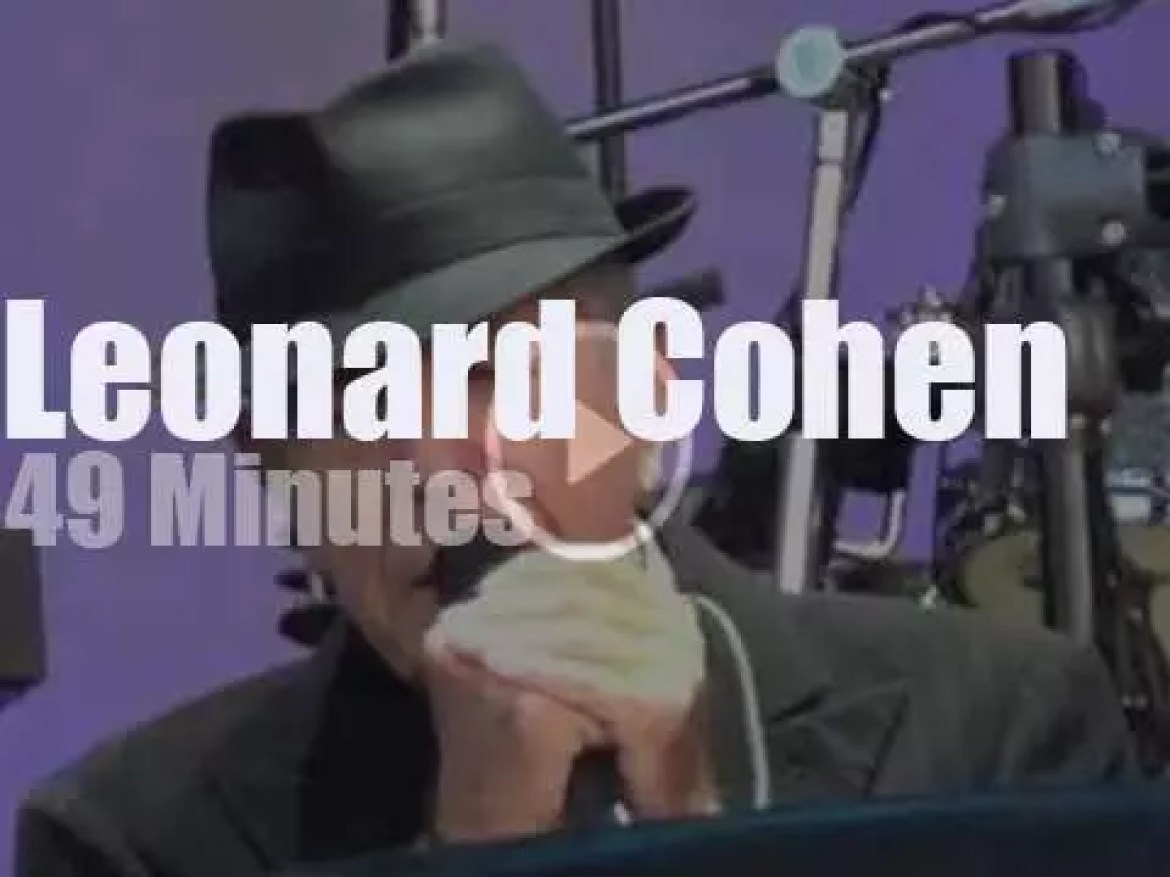 Leonard Cohen spends two nights in Amsterdam (2012)