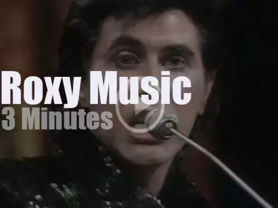 On English TV,  Roxy Music at TOTP (1972)