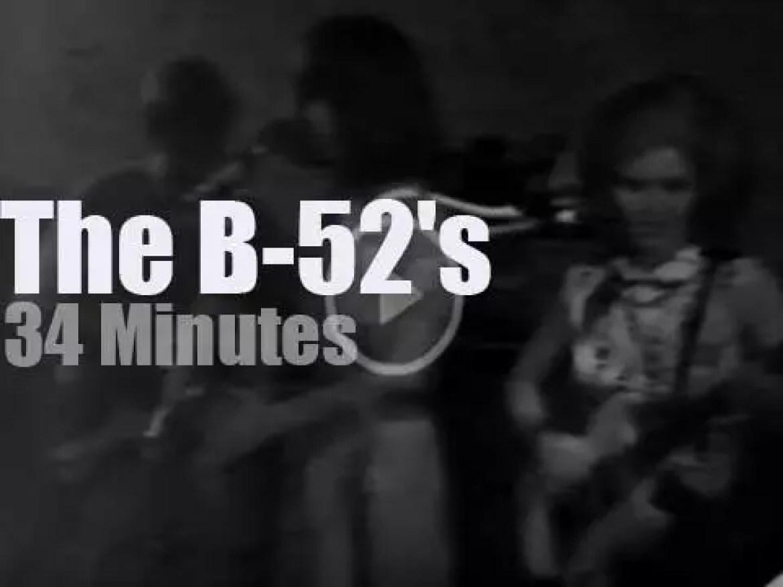 The B-52's land in Atlanta (1978)
